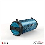 (IL) X-MAX LIGHTS WIRELESS SPEAKER X-115L - BLUE