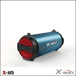 (IL) X-MAX LIGHTS WIRELESS SPEAKER X-115L - RED