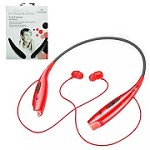(1-PCO) WIRELESS STEREO HEADSET NOVASONIC HBS-730  - RED