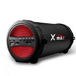 (IL) X-MAX X-104 PORTABLE STEREO SPEAKER - RED