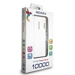 ADATA PT100 POWER BANK 10,000 MAH - WHITE & BLUE