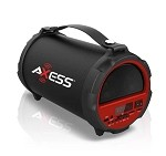 (MA) AXESS 1037 BLUETOOTH SPEAKER - RED