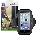 (1-SR) BELKIN SPORT-FIT PLUS ARMBAND (RETAIL PACKED) - BLACK/GRAY (RETAIL PACKED)