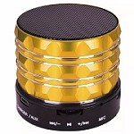 (NU) BS-211 MINI PORTABLE BLUETOOTH SPEAKER - GOLD