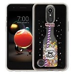 (1-WH) LG STYLO 4 / 4 PLUS ART MILKYWAY CASE - BOTTLE BLACK (RETAIL PACKED)