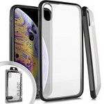 (E01) IPHONE X/XS DELUXE PROZKIN - BLACK (RETAIL PACKED)