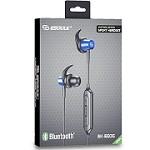 ESOULK EE06 BLUETOOTH SPORT HEADSET METAL SHELL WITH MAGNET - BLUE