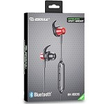 ESOULK EE06 BLUETOOTH SPORT HEADSET METAL SHELL WITH MAGNET - RED