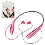(PCO) WIRELESS STEREO HEADSET NOVASONIC HBS-730  - PINK