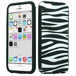 (E01) IPHONE 6/6S HYBRID SLIM - ZEBRA