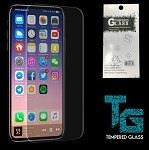 (E01) IPHONE X/XS TEMPERED GLASS - CLEAR