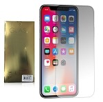 (E01) IPHONE X/XS TEMPERED GLASS - FULL COVER