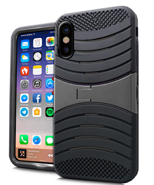 (E01) IPHONE X/XS WAVE STAND - BLACK