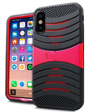 (1-CO) IPHONE X/XS WAVE STAND - RED