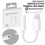 (1-SR) LIGHTNING TO 3.5 MM BLUETOOTH AUDIO ADAPTER - WHITE