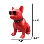 (1-KH) M11 DOG (LARGE) BLUETOOTH SPEAKER - RED