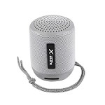 (IL) PORTABLE BLUETOOTH SPEAKER WITH HEADSET X118 - GRAY