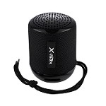 (IL) PORTABLE BLUETOOTH SPEAKER WITH HEADSET X118 - BLACK
