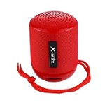 (IL) PORTABLE BLUETOOTH SPEAKER WITH HEADSET X118 - RED