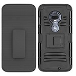 (F01) MOTO G7 PLAY HOLSTER - BLACK