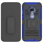 (F01) MOTO G7 PLAY HOLSTER - BLUE