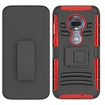 (F01) MOTO G7 PLAY HOLSTER - RED