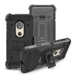 (F01) MOTO G7 PLAY HEAVY DUTY TACTICAL COMBO - BLACK