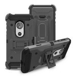 (F01) MOTO G7 PLAY HEAVY DUTY TACTICAL COMBO - GRAY