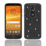 (F01) MOTO G7 PLAY GLISTER BLING - BLACK