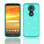 (F01) MOTO G7 PLAY GLISTER BLING - TEAL