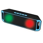 (PCO) NOVASONIC A2DP MULTI FUNCTION W/ LED BLUETOOTH SPEAKER - BLUE