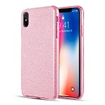 (D01) IPHONE XS MAX STARRY DAZZLE LUXURY TPU COVER CASE - PINK