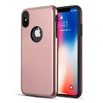 (D01) IPHONE XS MAX PATROL DUAL HYBRID PROTECTION CASE - PINK