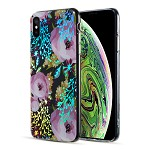 (D01) IPHONE XS MAX THE DECORATION SERIES DUAL IMD WITH HOLOGRAPHIC PRINTING - DESIGN 001