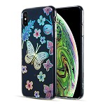 (D01) IPHONE XS MAX THE DECORATION SERIES DUAL IMD WITH HOLOGRAPHIC PRINTING - DESIGN 002