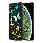 (D01) IPHONE XS MAX THE DECORATION SERIES DUAL IMD WITH HOLOGRAPHIC PRINTING - DESIGN 003