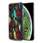 (D01) IPHONE XS MAX THE DECORATION SERIES DUAL IMD WITH HOLOGRAPHIC PRINTING - DESIGN 004