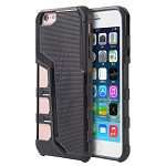 (D01) IPHONE 6 / 6S HYPER SPORT DUAL HYBRID CASE WITH BLACK TPU
