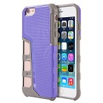 (D01) IPHONE 6 / 6S HYPER SPORT DUAL HYBRID CASE WITH GRAY TPU