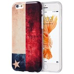(D01) IPHONE 6 / 6S PATRIOTIC VINTAGE FLAG SERIES IMD TPU CASE - CHILE