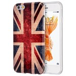 (D01) IPHONE 6 / 6S PATRIOTIC VINTAGE FLAG SERIES IMD TPU CASE - UNITED KINGDOM