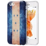 (D01) IPHONE 6 / 6S PATRIOTIC VINTAGE FLAG SERIES IMD TPU CASE - HONDURAS