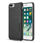 (D01) IPHONE 8 PLUS / 7 PLUS THE INFINITY SERIES TPU BACK COVER CASE (COMBO PIECE) - BLACK