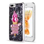 (D01) IPHONE 8 PLUS / 7 PLUS THE SEASHELL FUSION CANDY CASE WITH PRINTED DESIGN PATTERN - SUMMER DELIGHT