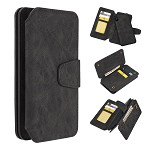(D01) IPHONE XS MAX THE LUXURY COACH 2 SERIES FLIP WALLET CASE - BLACK