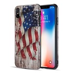 (D01) IPHONE XS MAX THE PATRIOTIC FLAG SERIES IMD TPU CASE - FADED GLORY