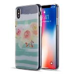 (D01) IPHONE XS MAX THE WATER COLOR IMD TPU CASE - PEACH BLOSSOM