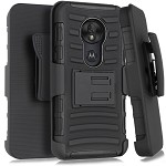 (1-WH) MOTO G7 PLAY HOLSTER - BLACK