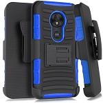 (1-WH) MOTO G7 PLAY HOLSTER - BLUE