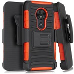 (1-WH) MOTO G7 PLAY HOLSTER - RED